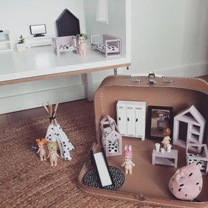 Project Dollhouse Poppenhuis Koffer Craft