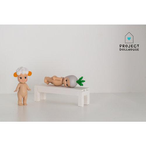 Project Dollhouse Decoratie Bankje