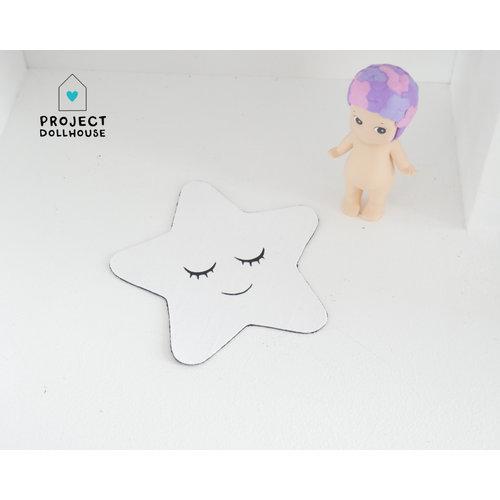 "Project Dollhouse Vloerkleed ""Ster"""