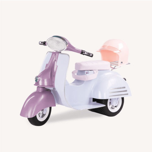 Our Generation Ride in Style Scooter – Lila en Blauw