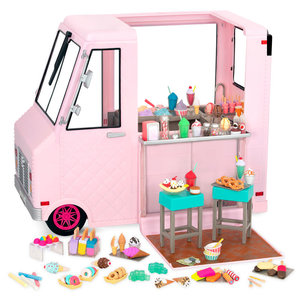 Our Generation Sweet Stop Ice Cream Truck – Roze