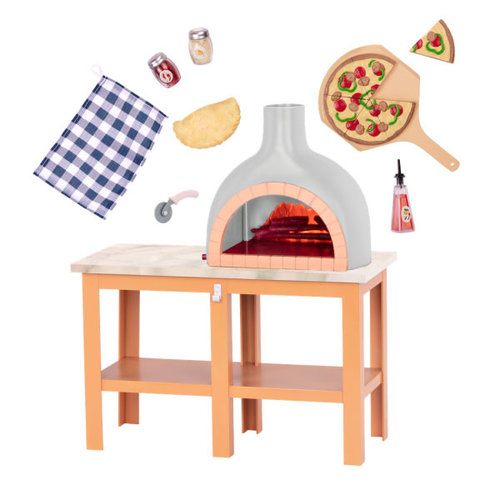 Our Generation OG Pizza Oven Playset
