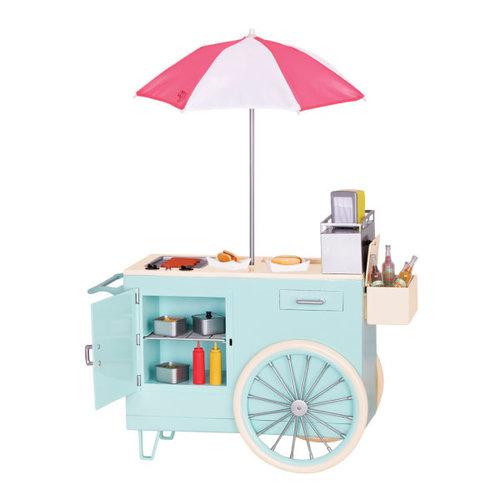 Our Generation Retro Hotdog Cart
