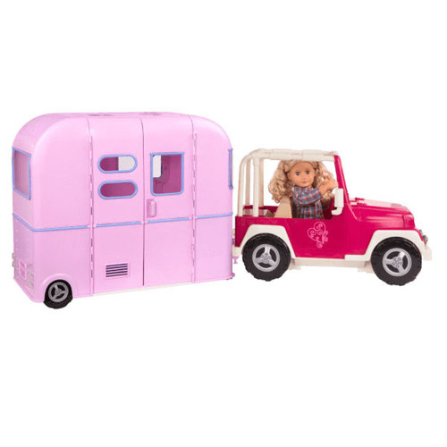 Our Generation R.V. Seeing You Camper – Roze