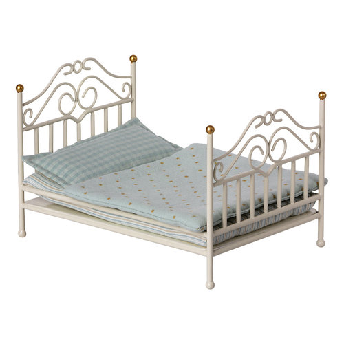 Maileg Vintage Bed Micro Wit
