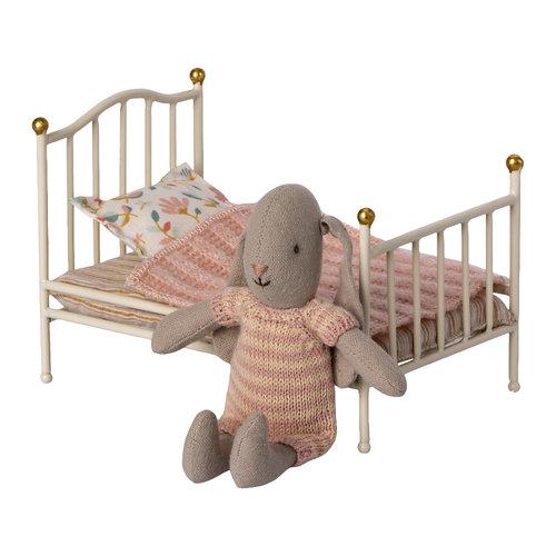 Maileg Vintage Bed Klein Wit