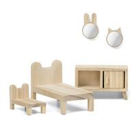 DIY Poppenhuis Slaapkamer