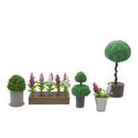 Poppenhuis Planten en Bloemen 8-dlg