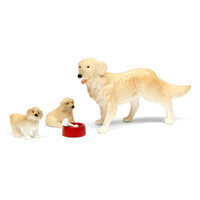 Poppenhuis Hond met Puppy's