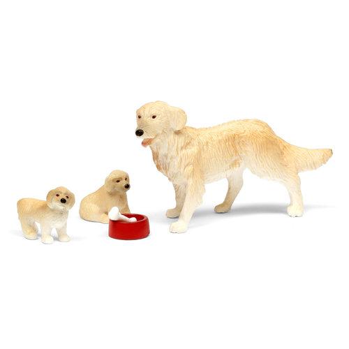 Lundby Poppenhuis Hond met Puppy's