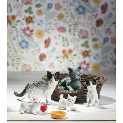Lundby Poppenhuis Katten met Accessoires