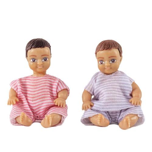 Lundby Poppenhuis Baby's 2 stuks