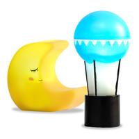 Poppenhuis Lampen Maan en Ballon