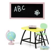 Poppenhuis School Set