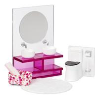 Poppenhuis Badkamer met Toilet