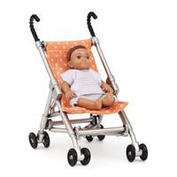 Poppenhuis Buggy met Baby