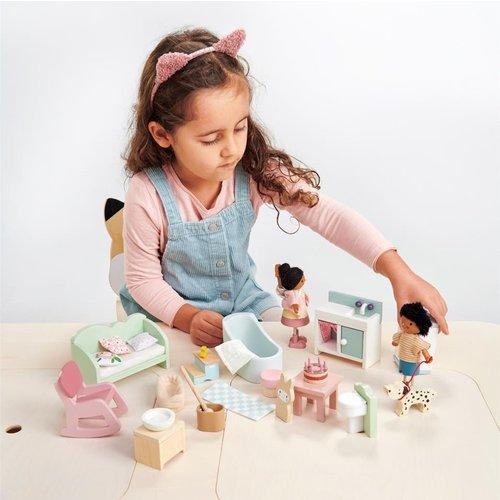 Tender Leaf Toys Poppenhuis Meubelset Landelijk