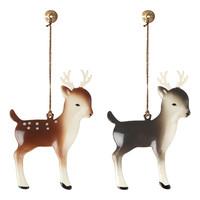 Kerstversiering Bambi met Gewei (1st)