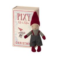 Pixy Kerst Elf  in Luciferdoosje
