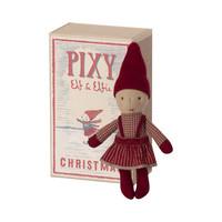 Pixy Kerst  Elfie  in Luciferdoosje