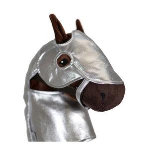 byASTRUP Harnas voor Stokpaardje - Zilver