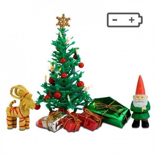 Lundby Poppenhuis Kerstboom met Accessoires