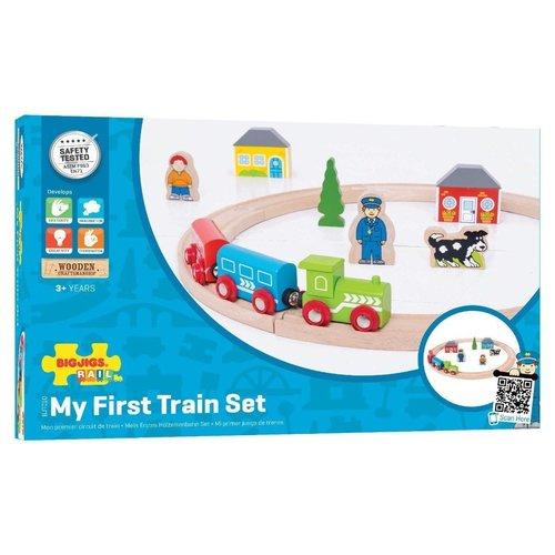 Bigjigs Mijn eerste trein set