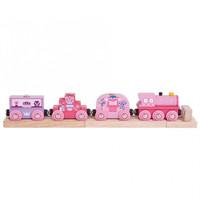 Roze prinsessen trein