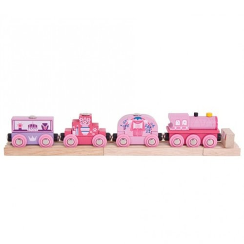 Bigjigs Roze prinsessen trein