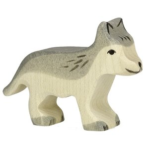Holztiger Wolf 6,5 cm