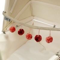 Poppenwagenketting Pompoen Roze