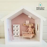 Mini Poppenhuis Huisje
