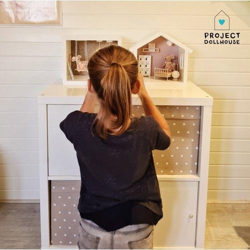 Project Dollhouse Mini Poppenhuis Huisje