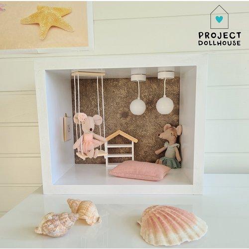 Project Dollhouse Mini Poppenhuis Rechthoek