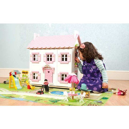 Le Toy Van Poppenhuis Speelkleed Tuin