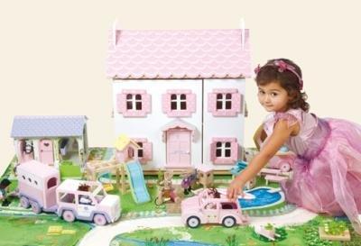 Le Toy Van Poppenhuizen - Een Wondere Wereld vol Fantasie