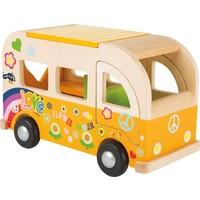 Houten Hippie Bus