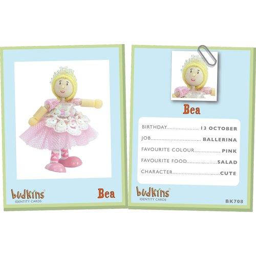 Le Toy Van Budkins Poppetje Bea Ballerina