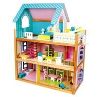 Houten poppenhuis Residence