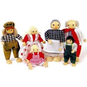 Goki Poppenhuis poppetjes in kledendracht