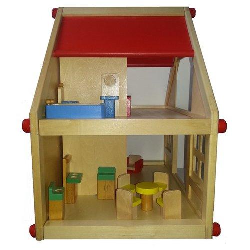 Legler Houten poppenhuis woonhuis