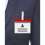 MeetingLinq A7 Badge holder Red including free paper from € 0.36 each