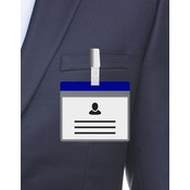 MeetingLinq A7 Ausweishalter Blau inklusive Gratispapier ab je 0,36 €