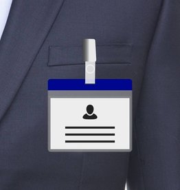 MeetingLinq A7 Badge holder Blue