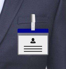 MeetingLinq A7 Badge holder Blue