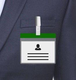 MeetingLinq A7 Badgehouder Groen