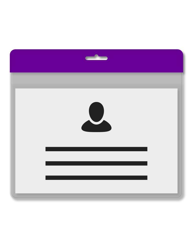 MeetingLinq Din A7 Badgehalter Schwarz inkl. Badgepapier ab € 0,36 pro Stück