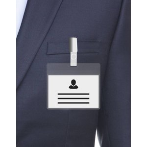 MeetingLinq A7 Badge holder Transparent