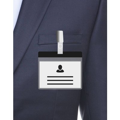 MeetingLinq A7 Badge holder Black incl. Free paper from € 0.36 each