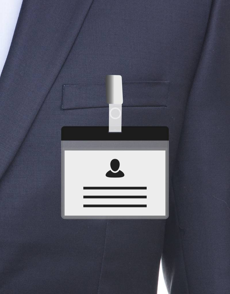 MeetingLinq A7 Badge holder Black free paper included from € 0.36 each